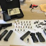 Armi: 33enne arrestato dai Carabinieri nel Vibonese