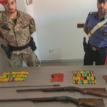 Armi: sequestro di fucili e munizioni nella Locride