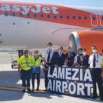Aeroporti: Sacal, da oggi nuovo volo EasyJet Lamezia-Ginevra
