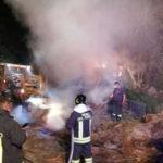 Incendio distrugge fienile nel vibonese, probabile dolo