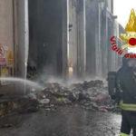 Incendi: rogo in impianto trattamento rifiuti solidi urbani