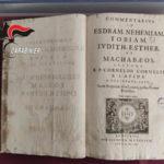 Trovato volume del '600 trafugato,scoperto durante indagini Cc