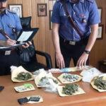 Droga: 26 enne trovato con 450 gr. di marijuana, arrestato dai Cc