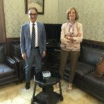 Il sindaco e presidente della provincia, Abramo, incontra nuovo prefetto