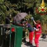 Doppio intervento dei Vigili del Fuoco di Chiarvalle Centrale