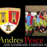Calcio: Un puntero argentino per il Sambiase