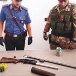 Ennesimo rinvenimento di armi da parte dei carabinieri a Ciminà