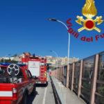 Catanzaro: tenta di lanciarsi da viadotto Bisantis, salvato dai Vigilfuoco