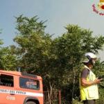 Vigili Fuoco impegnati in due incendi a Conflenti e Gizzeria