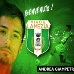 Calcio: La Vigor Lamezia ingaggia Andrea Giampetruzzi
