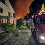 Catanzaro: a fuoco nella notte 9 ettari di macchia mediterranea