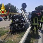 Vigili Fuoco impegnati in due incidenti stradali nel cosentino