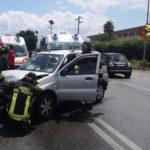 Incidente stradale SS 106 Località Passo Vecchio Crotone