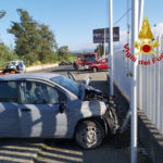 Lamezia: incidente in via del Progresso un ferito