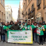 Fisascat Cisl domani in piazza,  Lo Papa: «Troppi i settori dimenticati»