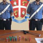 Armi: fucile e munizioni scoperti in rudere nel Reggino