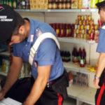 Lamezia: Controllo Carabinieri negozi generi alimentari etnici in via Trento