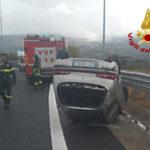 Incidente nei pressi dello svincolo autostradale di Montalto