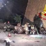 Incidenti stradali: auto fuori strada, muore un 28enne