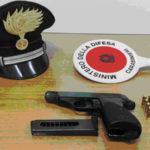 Davoli: nascondeva in casa una pistola, arrestato dai Carabinieri
