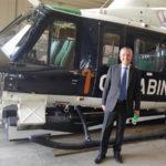 Prefetto Zito in visita all'8º Nucleo Elicotteri Carabinieri Vibo Valentia