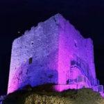 Belcastro, si colora rosa Castello Normanno lotta contro tumore seno