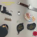 Deteneva marijuana ed armi in un appartamento arrestata una persona