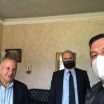 Lamezia: don Fabio Stanizzo incontra Paolo Mascaro e Pino Zaffina