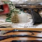 Armi: sequestrata pistola senza matricola, due arresti