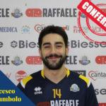 Raffaele Lamezia Pallavolo conferma Francesco Chirumbolo