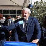 Il saluto commosso di Emiliano e Abramo al presidente Santelli