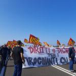 Protesta tirocinanti in Calabria,disagi a Lamezia Terme