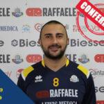 Pallavolo: Raffaele Lamezia completa rosa prima squadra maschile