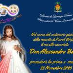 Prima s. messa  Don Alessandro nella comunità parrocchiale Accaria
