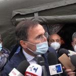 Covid: ospedale da campo a Cosenza, sopralluogo di Spirlì e Boccia