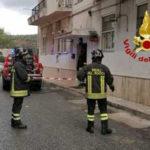 Anziano muore nell'incendio della sua abitazione a Catanzaro