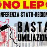 Basta umiliazioni, manifestazione di Equità Territoriale Cittadella Regionale