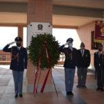 Catanzaro :una corona di alloro per ricordare caduti della Polizia Stato