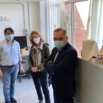 Visita assessore Savaglio al laboratorio fisico dell'Arpacal a Catanzaro