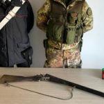 Cimina':ritrovamento di armi munizioni da parte dei carabinieri