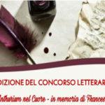 """""""Concorso Letterario di poesia - Un Anthurium nel cuore- in memoria di Francesco"""""""