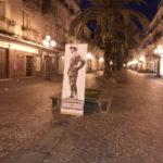 Lamezia: iniziativa di CasaPound installato un Gabriele D'Annunzio