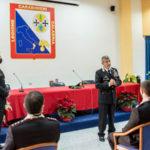 Visita Comandante Interregionale, Generale corpo armata Burgio