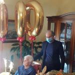 Lamezia: nonna Angela Mancuso ha festeggiato 100 anni