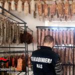 Controlli dei Carabinieri Nas: sequestrati circa 600 kg. di carne