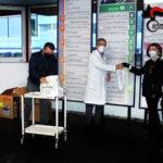 Reggio Calabria: Epifania in divisa all'ospedale metropolitano