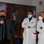 Sanità, Spirlì visita il Gom: «Grande eccellenza, ma grave carenza personale»