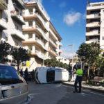 Lamezia: incidente stradale in via XX Settembre, un ferito