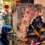 Cosenza: crollo in via del Seggio nel centro storico
