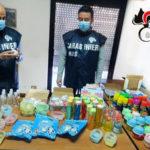 Covid: Nas sequestrano gel igienizzante privo autorizzazioni